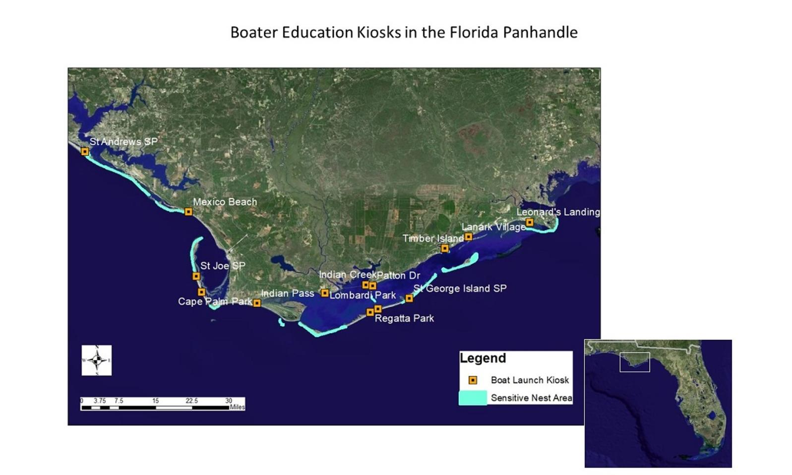 Boater Education Kiosks