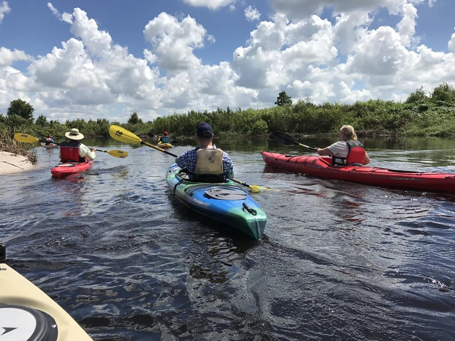 kayaking the Kissimmee River