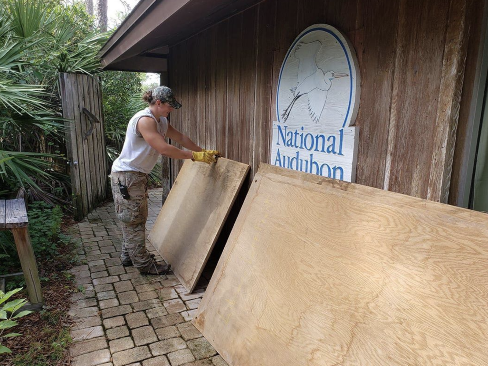 Corkscrew Prepares for the Hurricane