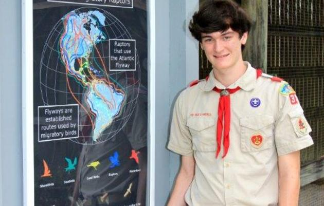 Eagle Scouts Make Big Impact at Audubon's Center for Birds of Prey