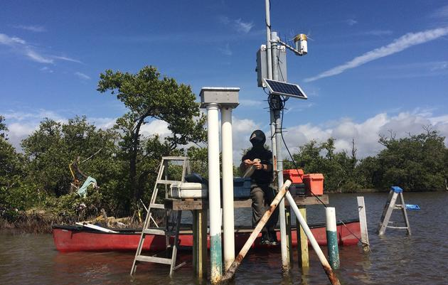 The Important Work and Repair of Everglades Backcountry Hydrostations