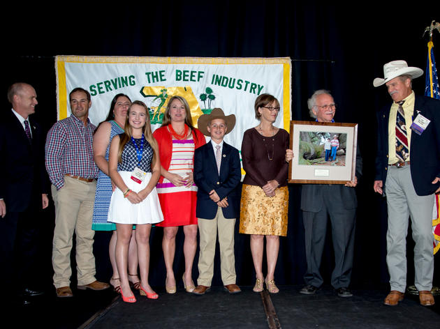 Lightsey Cattle Company Presented with Audubon Florida's 2016 Sustainable Rancher Award