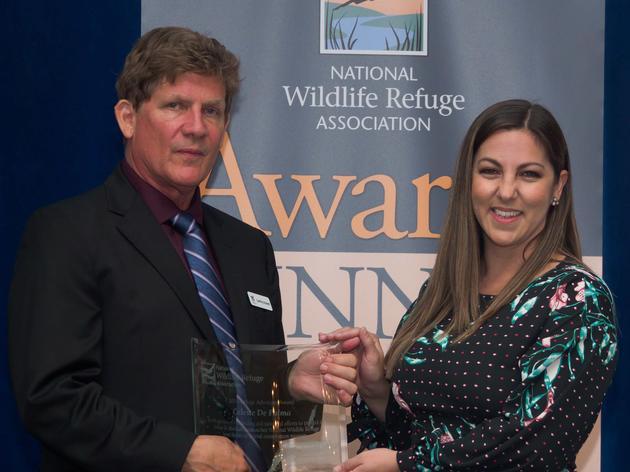 Audubon Florida's Celeste De Palma Named the 2018 National Wildlife Refuge System Advocate of the Year