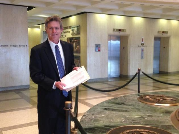 Fracking Petition Arrives at Capitol