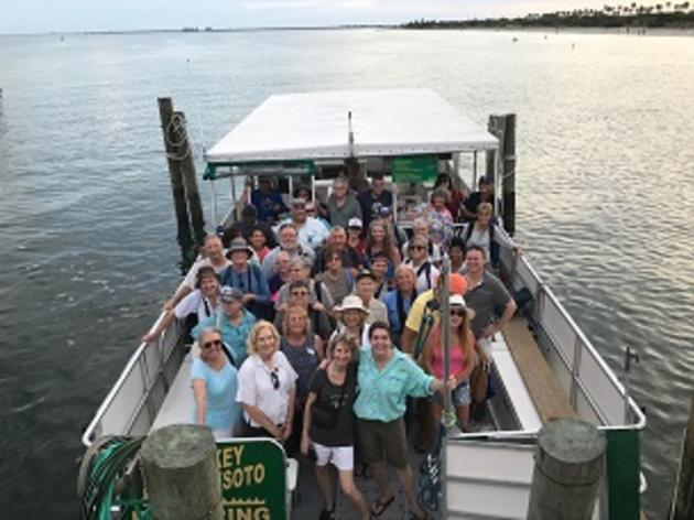 Audubon Florida teams up with Tampa Bay National Wildlife Refuge to lead field trip to Lower Tampa Bay Global Important Bird Area
