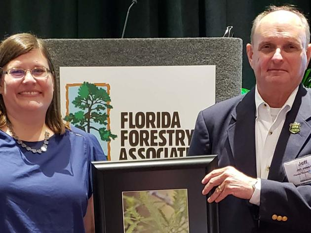 Audubon Florida Recognizes Jeff Vowell with 2018 Sustainable Forestry Award