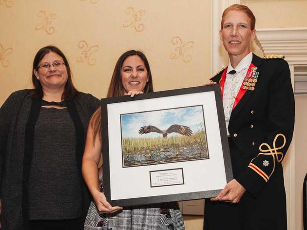 Lt. Col. Jennifer Reynolds Recognized as 2018 Champion of the Everglades by Audubon Florida