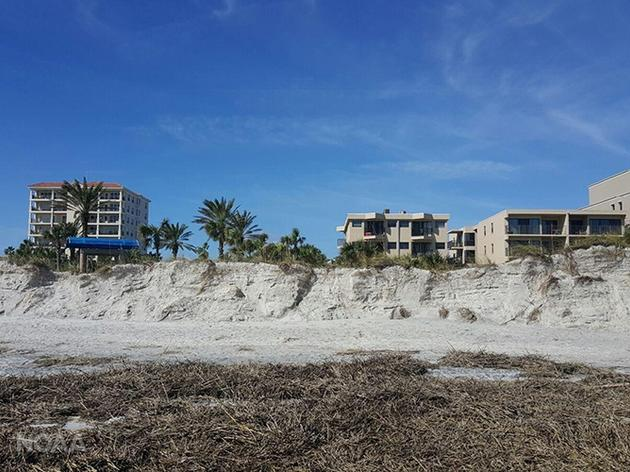 Hurricane Matthew Assessment: Beach Dunes Better Than Seawalls