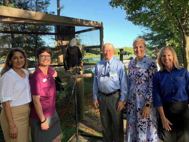 Audubon Center Unveils New Exhibit Focused on Raptor Protection