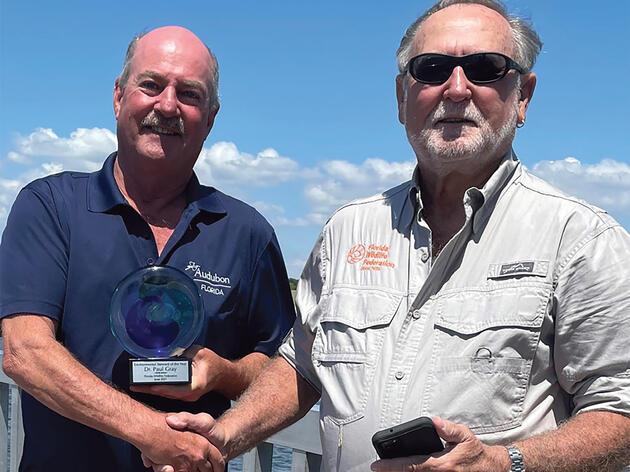 Paul Gray Named Environmental Steward