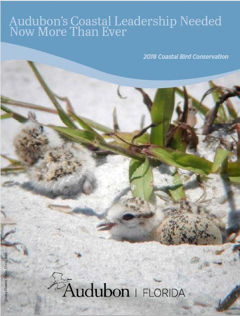 2018 Coastal Bird Report Cover