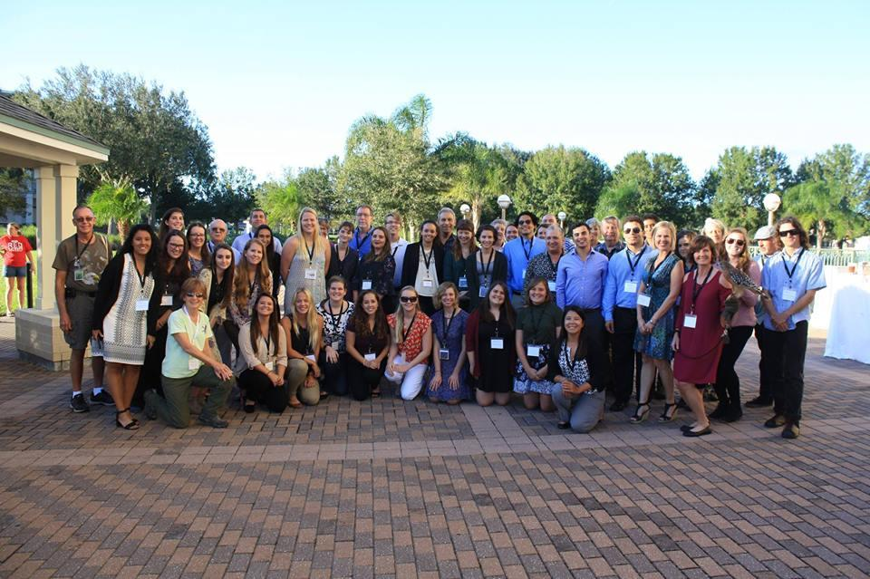 Group photo of students and co-mentors