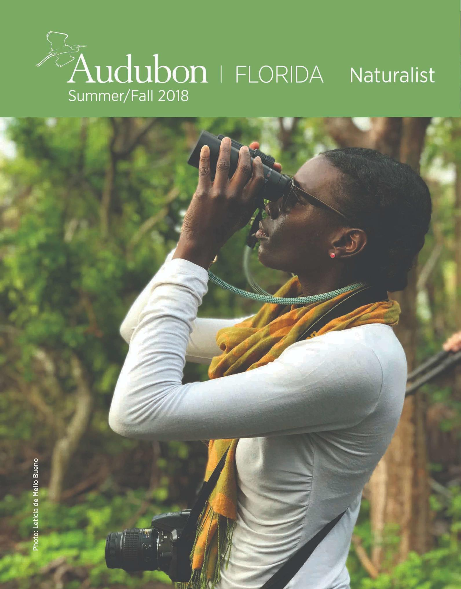 the naturalist magazine cover