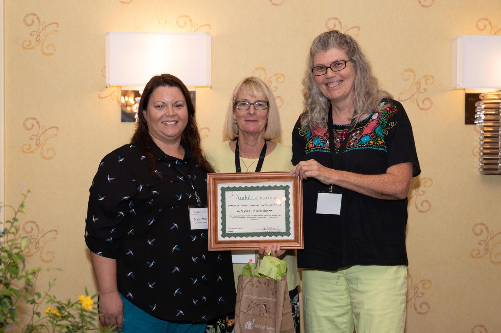 Sante Fe Audubon won Best Conservation Project