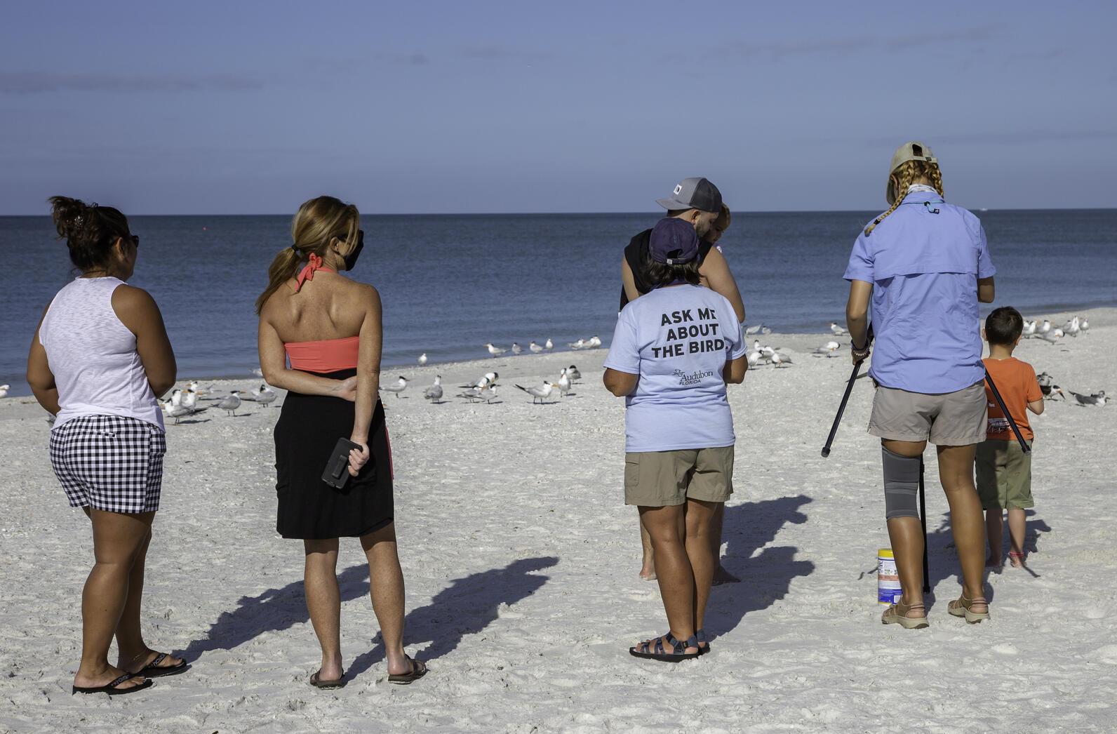 Outreach at the beach